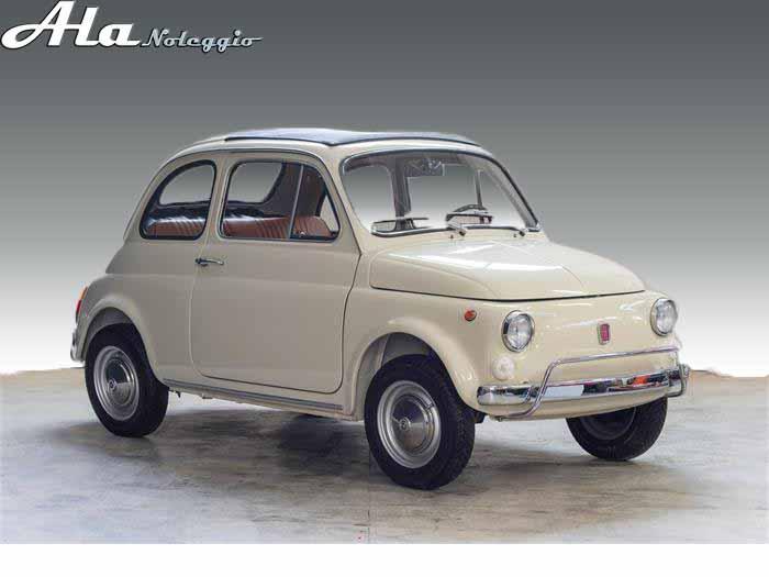Fiat 500 d 39 epoca noleggio auto catania alanoleggio ncc for Moquette fiat 500 epoca